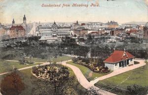 Sunderland from Mowbray Park Panoramic view
