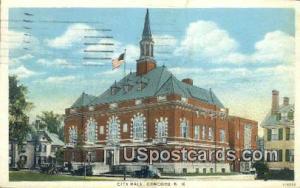 City Hall Concord NH 1929