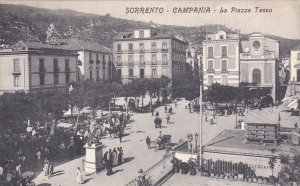 SORRENTO - Campania , Italy , 00-10s ; La Piazza Tasso