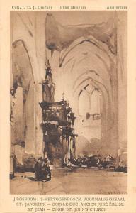 Netherlands Art Rijks Museum s'-Hertogenbosch Choir St John's Church, J. Bosboom