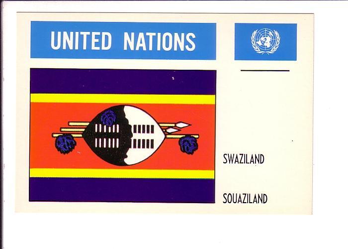 Swaziland, Flag, United Nations