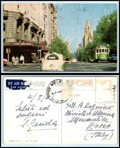 AUSTRALIA Postcard - Melbourne, Downtown, T & G Life Society Building AH