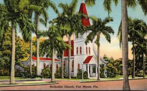 Florida Fort Myers Methodist Church 1950