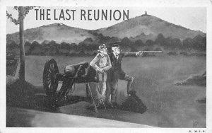 Civil War Post Card The Last Reunion Gettysburg, PA Unused