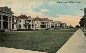 DALLAS , Texas , 1900-10s ; Ross Avenue