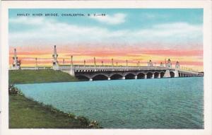 South Carolina Charleston Ashley River Bridge