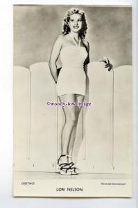 b6074 - Film Actress - Lori Nelson in White Bathing Costume, Universal- postcard