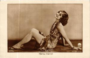 CPA NANCY CARROLL. Ross Verlag 5135/1 Film Star (601618)