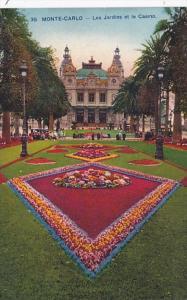Monaoa Monte Carlo Les Jardin et le Casino