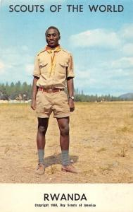 Scouts of the World: Rwanda (1968 Boys Scouts of America) Uniform