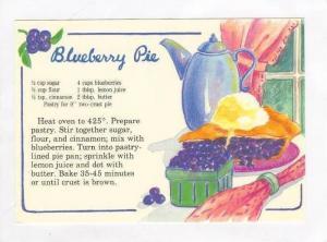 Recipe   Blueberry Pie, 70s