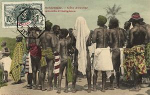 CPA Senegal Ethnic Nude Fortier - Cote d'Ivoire (71111)
