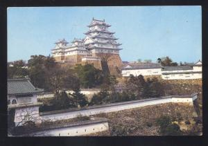HIMEJI CITY SHANGHAI CHINA CHINESE TEMPLE CASTLE VINTAGE POSTCARD