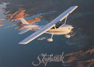 Cessna Skyhawk 172r Airplane over Lake Powell , UTAH , 1980-90s
