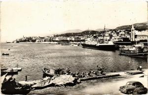 CPA CORSE Bastia- Vue sur le Nouveau Port. (711479)