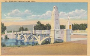 BOISE, Idaho, PU-1940; Boise River Bridge