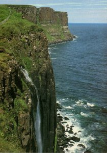 Scotland Isle Of Skye Trotternish Peninsula The Kit Rock Falls