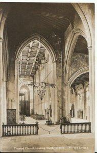Essex Postcard - Thaxted Church looking West - Ref TZ3291