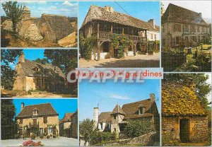 Postcard Modern Dordogne Perigord The Land of Man