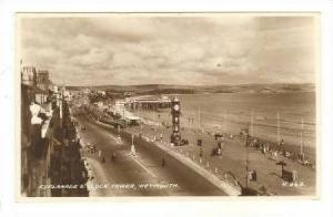 RP, Bird´s Eye View, Esplanade, Clock Tower, Weymouth, Dorset, England, 1920...