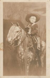 RP: PITTSBURGH, Pennsylvania, 1913; Boy on a Pony, Western Photo Gallery