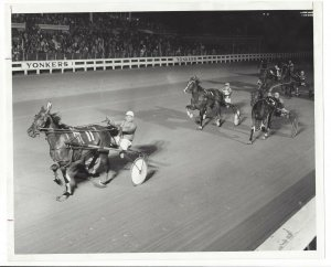 YONKERS RACEWAY, New York; JON'S HOPE wins 1972