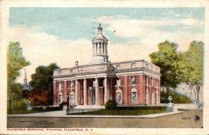 New Jersey Plainfield Municipal Building 1917