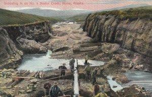 NOME , Alaska , 1900-10s ; Gold Mine No. 4 Buster Creek
