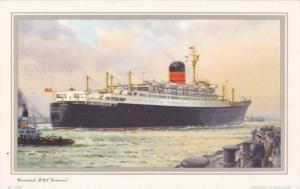 Oceanliner/Steamer/Ship, Cunard R. M. S. Ivernia, 1960