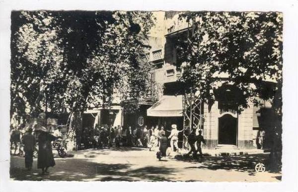 RP  Tlemcen, Algeria, L'Esplanade du Mechouar, 20-40s