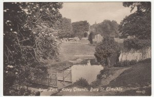 Suffolk; River Lark, Abbey Grounds, Bury St Edmunds PPC By Valentines, Unused