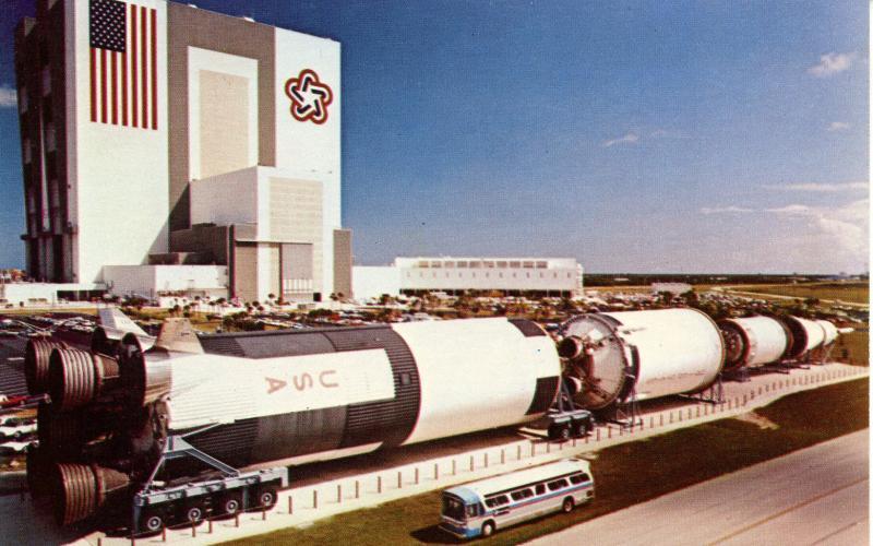 FL - Kennedy Space Center. The NASA Saturn V Rocket    (NASA/Astronomy