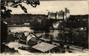 CPA PIERREFONDS Le Chateau l'Etang et la Gare (376924)