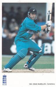 Craig McMillan Canterbury Team Cricketer Cricket Postcard