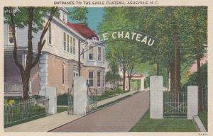 KINSTON , North Carolina , 1930-40s ; Entrance to the Earle Chateau