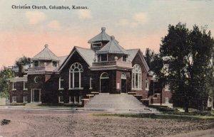COLUMBUS , Kansas ; PU-1916 ; Christian Church