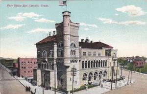 SAN ANTONIO, Texas, 1900-10s; Post Office