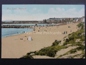 N Ireland PORTRUSH West Sands c1911 Postcard by Valentine 70797