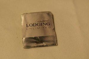 Lodging Unlimited Pennsylvania Silver 20 Strike Matchbook