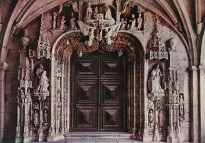Portugal Lisboa Portico Mosteiro dos Jeronimos