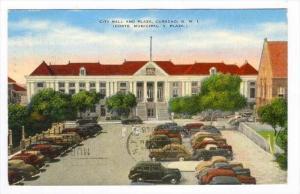 City Hall & Plaza, Curacao, N. W. I., Corte Municipal Y Plaza, Venezuela, 193...