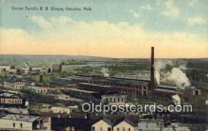 Union Pacific RR Shops, Omaha, NE, Nebraska, USA Depot Railroad Unused close ...