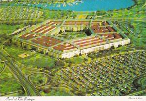 Virginia Arlington Aerial VIew Of The Pentagon