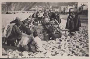 Portugal Nazare Rare Real Photo Postcard