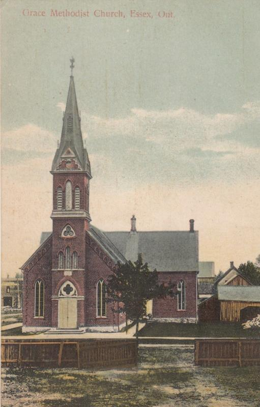 ESSEX , Ontario, Canada, 1910 ; Grace Methodist Church