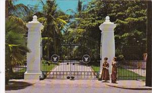 Florida Key West Presidential Gates U S Naval Station