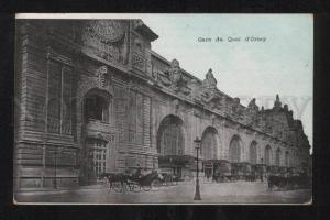 058736 FRANCE Gare du Quai Orsay STATION Vintage PC