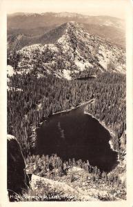 Idaho Pan Handle Lakes~Roman Nose~Birdseye~1940s Real Photo Postcard~RPPC