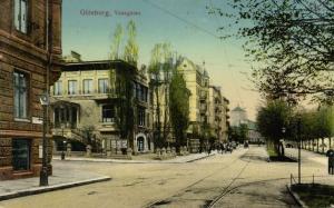 sweden, GÖTEBORG, Vasagatan (1912) Stamp