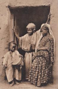 Tunisia Le Petit Tambour Women Watching Young Boy Beating Drum